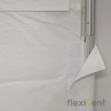 Profi Faltzelt - Klettumschlag Kedersystem PVC-PLane ZP