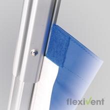 Robustes Faltzelt - PVC-Plane Kedersystem XP