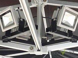 Zubehör - LED Strahler LPTent Faltzelt
