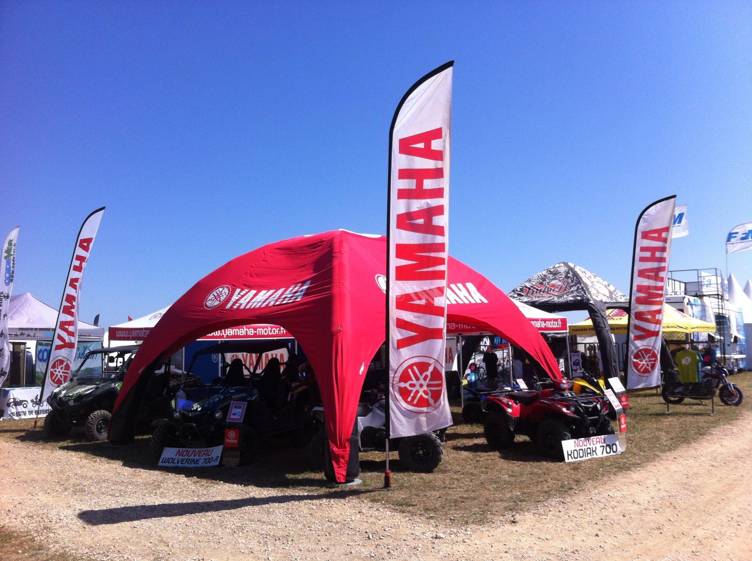 Airtent - LPTent Airmonster aufblasbares Zelt yamaha