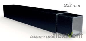 Faltzelt günstig - LPTent Rahmen querschnitt Gestell ECO