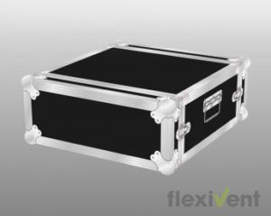Flightcase - Doubledoor 19 Zoll Case