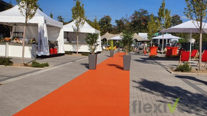 roter Teppich - faltzelt event eventzubehör veranstaltung