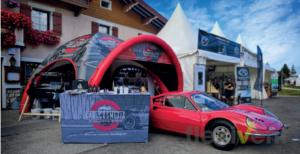 Werbezelt - Car cosmetic Airtent Theke werbematerial