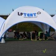Airtent - Das Werbezelt LPTent weiss