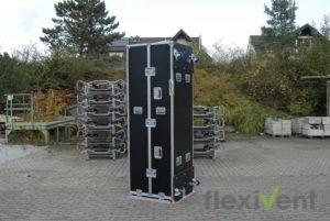 Zeltcase - Flightcase für faltzelt Pagode geschlossen