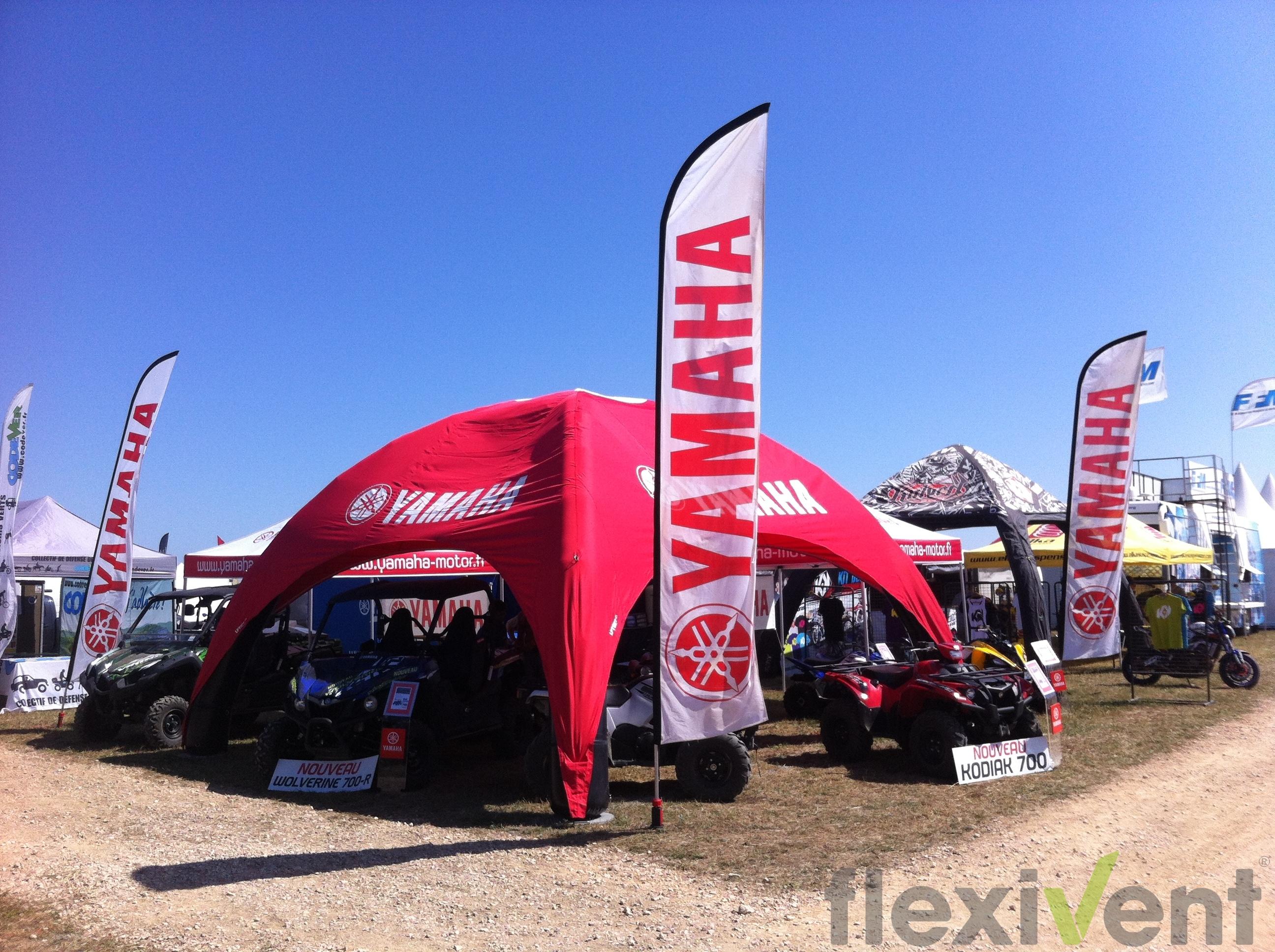 Airtent - Das aufblasbare Zelt LPTent Yamaha