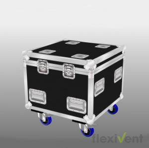 Flightcase - Multicase cube 60