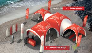 Airtent - Ihr aufblasbares Zelt von LPtent