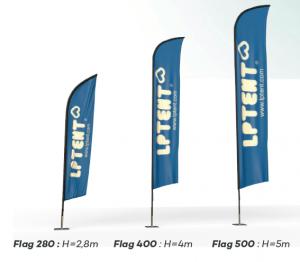 Beachflag - LPTent Flag verschiedene größen
