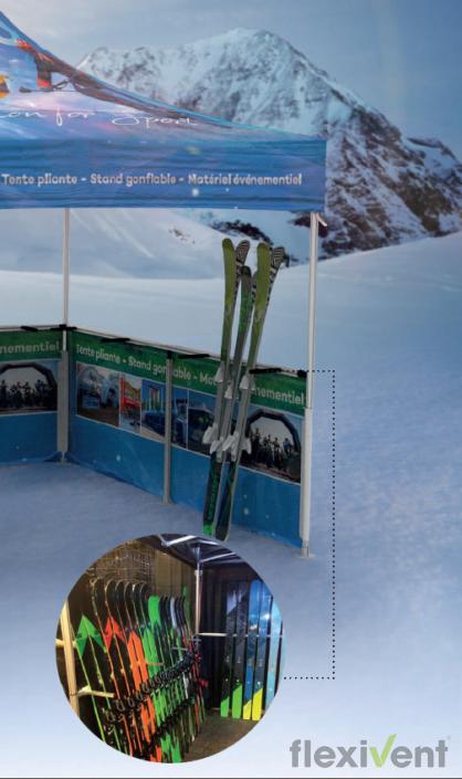 Winterzelt - Skihalterung XP und ZP gestell