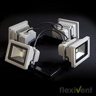 led strahler - faltzelt 4er led licht lampe