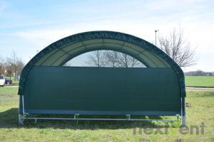Weidezelt 6x6 - mobile cover pferd weideunterstand windschutznetz