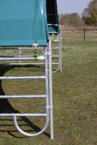 Befestigungsrohr weidezelt - weideunterstand befestigung wiese