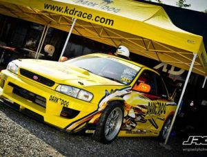 rennzelt XP - gelb auto